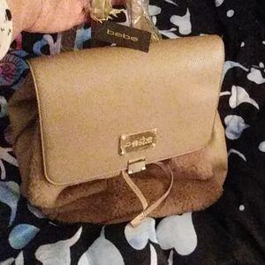 BeBe babkpack style purse